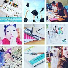 """Sok minden történt 2017-ben az Arteco House-ban. Itt van az én """"kedvenc 9""""-em. Elkészültek új online anyagok amelyek az alkotó művészeket és az alkotó kézműveseket segítik abban hogy jobbak legyenek az üzleti vállalkozásukkal minz a konkurenciájuk. Én magam is alkottam hol az otthoni kuckómban hol pedig alkotótáborban. Megszületett a pontozott lapú füzetek második sorozata is ami a @artecohouse.hu webshopjában kapható. Ebben az évben is voltak tanítványok akik néha lefotóznak  @kemma.8 pl… Emo, Playing Cards, Polaroid Film, Business, Playing Card Games, Emo Style, Store, Business Illustration, Game Cards"""