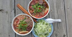 It's been four years since I posted my recipe for Bun Bo Hue , and I lost count on how many times I have made it again after that day....