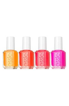 """Essie nail polish, Macks.....When my niece Stacy got engaged in NYC she rushed to get a mani...she wanted something red and she chose this color. Ironically when she looked at the color name """"Macks"""", it is the same name as her now husband Mack. Perfect pick!"""