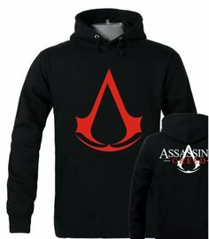 Assassins Creed Cosplay, Pullover Hoodie, Red Flag, 4 News, Hooded Sweater, Red Sweaters, Hoods, Winter, Jackets