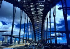 Done for the day with clear weather and clear traffic! Sydney Harbour Bridge in the Sydney Skyline. #sydneyweather #sydneyskyline #sydneyskies #clouds #ilovesydney #sydneyharbourbridge #sydneytraffic #sydneytransport #transportnsw #uncleguss #beyondthewharf #crewandshipyard #9weather #sydneycity #travelnsw #traveloz #australia by ihaig72 http://ift.tt/1NRMbNv