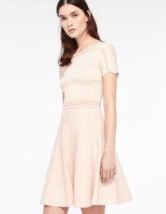 Aspen, Light pink, | sandro-paris.com