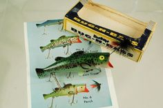 Bug N Bass Antique Lure - http://www.finandflame.com/bug-n-bass-antique-lure…