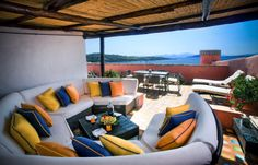 Presidential Suite, Hotel Cala di Volpe, Sardinia.