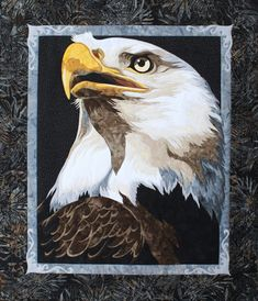 Bald Eagle Quilt Pattern Liberty by Toni by UndercoverQuilts, $14.95