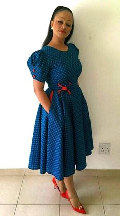 design Dresses 2017 - Traditional Wear For Dresses By Bongiwe Walaza traditional dresses styleyou Shweshwe Traditional Dresses Designs ) ( 2017 )designs south african traditional dresses 2017 Related African Dresses For Women, African Print Dresses, African Print Fashion, Africa Fashion, African Attire, African Fashion Dresses, African Wear, African Style, Ghanaian Fashion