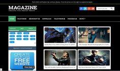 Magazine Black Blogger Template é um template blogger para blog de noticias, revista, tecnologia e etc. Com layout responsivo, Magazine Black tem 3 colunas, 1 sidebar na esquerda, 4 colunas de rodapé, menu horizontal drop-down, guias de widget, botões de compartilhamento social, posts relacionados, perfil do autor abaixo de cada post, locais para posicionar anúncios e muito mais. Best Templates, Blogger Templates, Movie Website, Popular Tags, Magazine Template, All Video, Techno, Advertising, 1