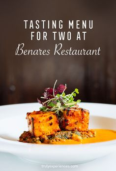 Indian Essence: Tasting Menu for Two at Benares Restaurant