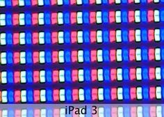All tablets and mobile phone screens under microscope
