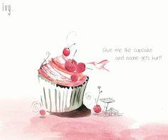 cute cupcake <3