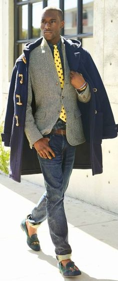 Parka coat, Ralph Lauren Style