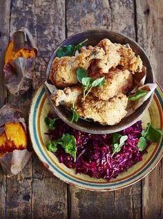 Southern Fried Chicken | Chicken Recipes | Jamie Oliver