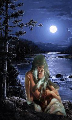 Native American Images, Native American Artwork, Native American Indians, Indian Artwork, Native Indian, American Pride, Wolves, Nativity, Success