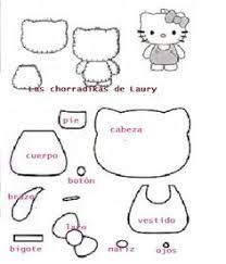 Resultado de imagen para hello kitty and friends fieltro