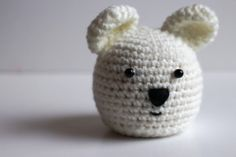 Polar bear Chocolate Orange cosy – love it!
