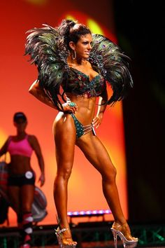 WBFF Fitness Atlantic...Connecticut. Peacock...