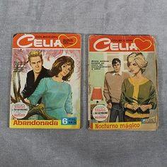 Lote de 2 Novelas Graficas Para Adultos- Colección Celia Años 60- L5225 - INV...