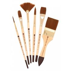 Cheap Joe's Golden Fleece Synthetic Watercolor Brushes are our best selling watercolor brush! Cheap Joe's Golden Fleece are made from 100% Toray Nylon synthetic fiber. Toray Nylon is the finest quality synthetic fiber available for artists working with watercolors.