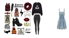 """Harry Potter"" by juju-jovi on Polyvore featuring moda, ZeroUV, Cutler and Gross, Lime Crime, Vans, BCBGMAXAZRIA, Tory Burch, Maison Margiela y One Bella Casa"