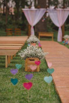 Inspire Blog – Casamentos Casamento ao ar livre de Carol e Jean - Inspire Blog - Casamentos