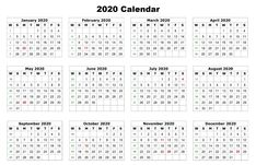 Blank Printable Calendar Pages 2020 Printable 12 Month Calendar One Page Free Editable Calendar 2020 Printable Templates Related Printable Yearly Calendar, Monthly Planner Template, Free Printable Calendar Templates, Printable Calendar 2020, Kids Calendar, Printables, As You Like, Daily Schedules