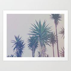 Vintage Palms Art Print by Leah Flores - $18.00
