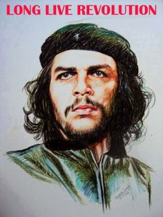 Amazing Crayon Portraits by Davinchi Suresh Full Hd Pictures, Galaxy Pictures, Che Guevara Photos, Ganpati Bappa Wallpapers, Revolution Poster, 3d Wall Painting, Ernesto Che, New Background Images, New Backgrounds