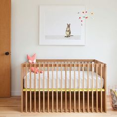 A modern nursery.   #studiominishop #studiominiinspiration via @fitzsu & @theanimalprintshop