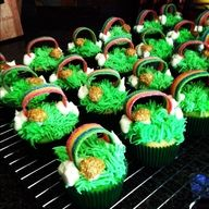 St pattys day cupcakes by me :)