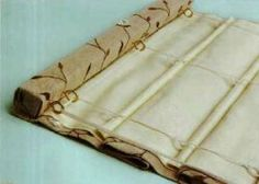 Римские жалюзи на подкладке