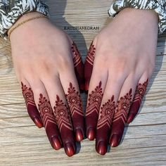 Modern Henna Designs, Henna Tattoo Designs Simple, Latest Henna Designs, Finger Henna Designs, Mehndi Designs For Fingers, Dulhan Mehndi Designs, Beautiful Henna Designs, Mehndi Designs For Hands, Henna Mehndi
