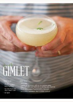 fresh gimlet | recipe be gingerandbirch | image by lily glass