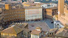 Sienan aukio.  #Siena #Piazza #Italy #Italia