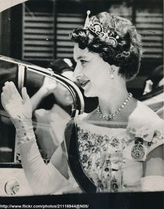 Princess Margaret in Trinidad