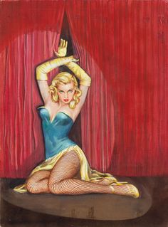 Of G Strings and Strippers, paperback cover, 1959