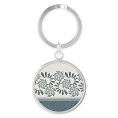 "Ornament ""Smoky"" Keychains Ornament ""Smoky"" vegetable, gray-blue color  $25.99"
