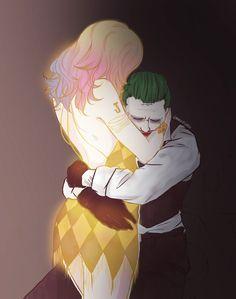 The Joker & Harley Quinn From Suicide Squad Art Harley Quinn Et Le Joker, Harley And Joker Love, Harley Quinn Drawing, Harey Quinn, Der Joker, Daddys Lil Monster, Joker Wallpapers, Fan Art, Gotham City
