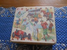 Crabtree and Evelyn Sport Tin 1987