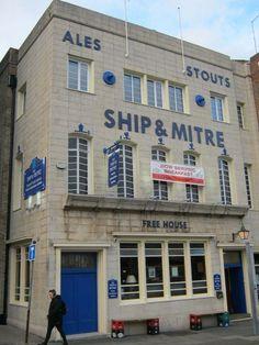 The Ship & Mitre, Dale Street, Liverpool Liverpool Docks, Liverpool Home, Liverpool England, England Uk, British Pub, Uk Trip, New Brighton, Art Deco Buildings, Pub Signs