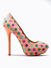 Polka Dots and orange