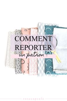 Comment reporter un patron de couture ? Techniques Couture, Sewing Techniques, Sewing Hacks, Sewing Projects, Sewing Tips, Couture Main, Maxi Dress Tutorials, Sewing Online, Girl Dress Patterns