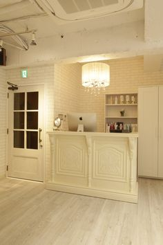 Beauty salon interior design ideas | + reception + hair + space + decor + Japan + antique + french