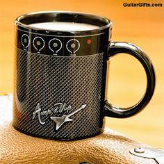 Awesome Amp Mug for Guitar Players  #guitar #gifts