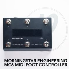 Morningstar Engineering MC6 MIDI Foot Controller