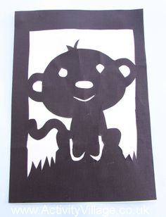 Year of the Monkey Paper Cut