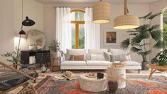 This video is a 3D animation render with both growing and walkthrough effect, displaying Homestyler latest demo project in modern bohemian style. This style is known for its extravagance, alternative and noble personality. In this case, our designer decorates with a touch of orange and usage of wooden furniture. To explore more details, please visit our link for inspiration. Last but not least, we wish you and your loved ones a healthy, safe, and prosperous new year! 3d Interior Design, Bohemian Interior Design, Interior Rendering, Apartment Interior Design, Interior Architecture, Modern Bohemian, Bohemian Style, Boho Chic, Plan Design