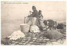 Petits métiers de la rue-La laveuse-