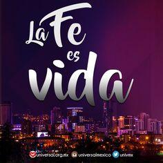 Si tu también vives por la fe. Comparte esta imagen. #Fe #Vida #Dios  Síguenos por nuestras redes sociales:   http://www.universal.org.mx  https://www.facebook.com/IglesiaUniversalMexico/ http://www.twitter.com/UnivMx http://www.instagram.com/UniversalMexico
