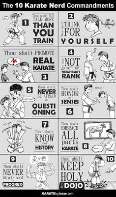 Karate by Jesse/karate nerd...