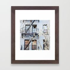 Buy Brooklyn Spring Framed Art Print by inthisinstance. Worldwide shipping available at Society6.com. Just one of millions of high quality products available.